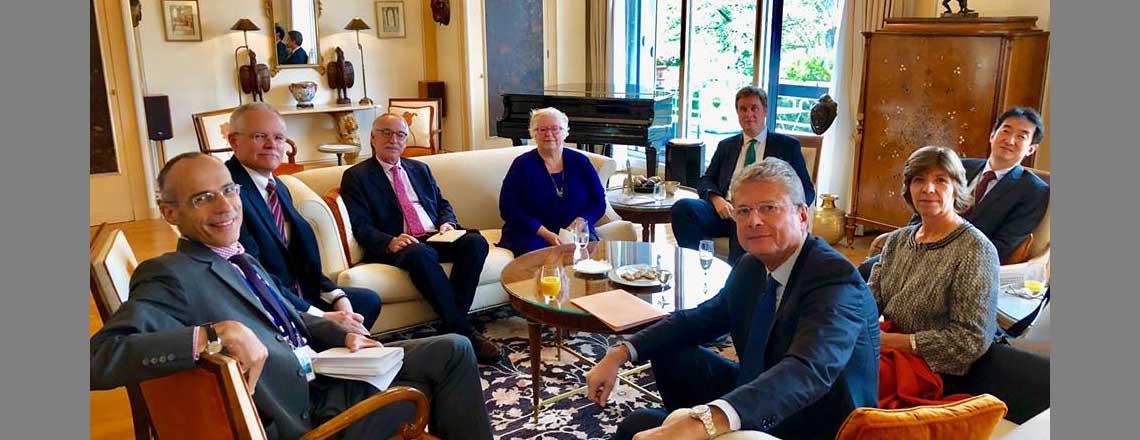 #G7 + #EU Ambassadors meet to discuss shared agenda