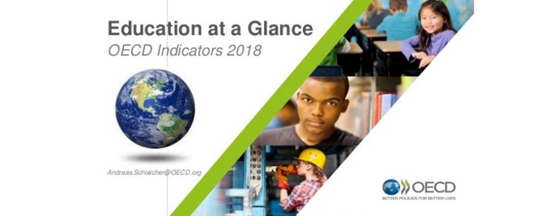 OECD releases the Education at a Glance 2018